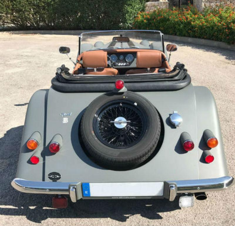 Morgan PLUS 4 Tourer 4 Cubierta de asiento de coche interior a la medida 1950 en adelante